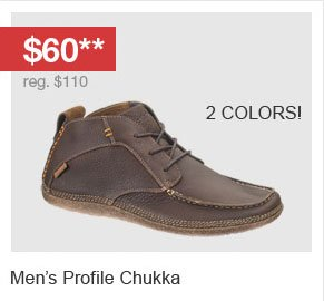 Men's Profile Chukka