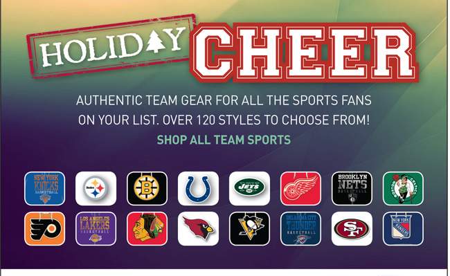 Shop All Team Sports
