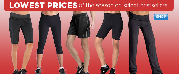 Season's lowest prices