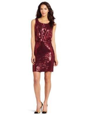 Velvet Sareen  <br/>Sequin Blouson Tank Dress