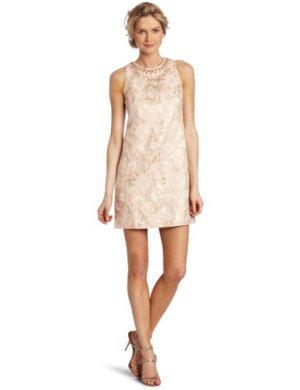 Maggy London  <br/>Sheath Brocade Dress