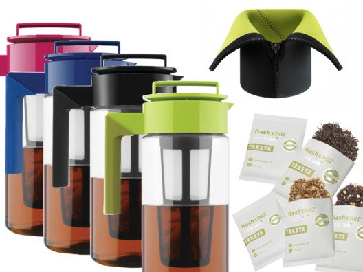 Hot & Cold Flash Tea Maker Set from Devin Alexander