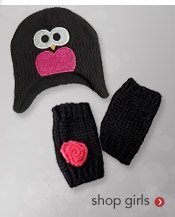 shop girls cold weather accessories
