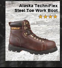 Alaska TechniFlex Steel Toe Work Boot