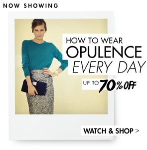 HOW TO WEAR OPULENCE