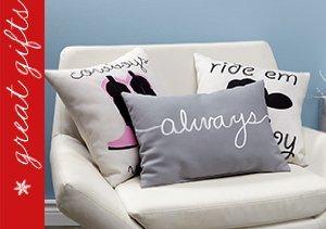 Cheeky Pillow Talk from One Bella Casa