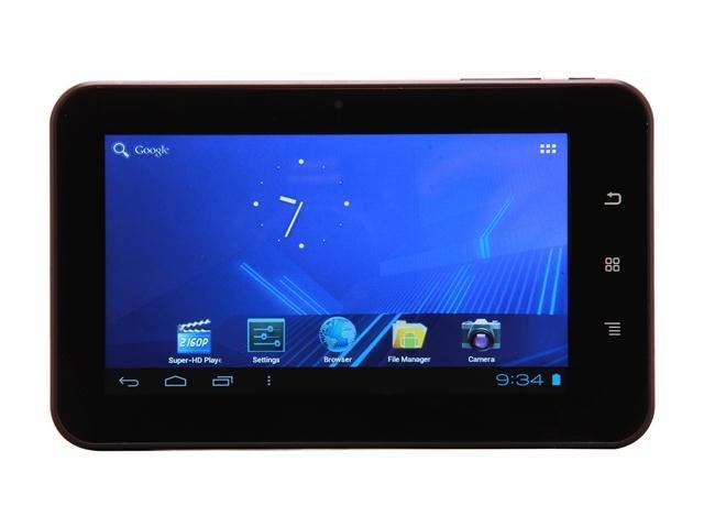 Mach Speed TRIO-STEALTH PRO METAL-7CM Tablet Allwinner Cortex A8 1.20GHz 7