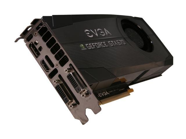 EVGA 02G-P4-2678-KR GeForce GTX 670 FTW 2GB 256-bit GDDR5 PCI Express 3.0 x16 HDCP Ready SLI Support Video Card