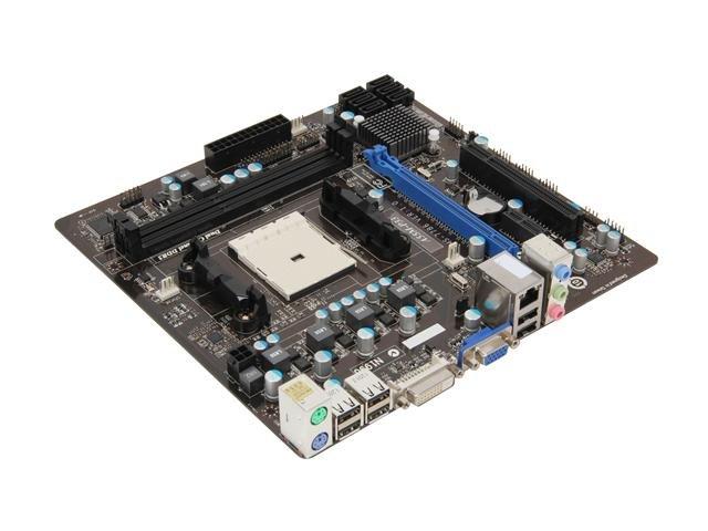 MSI A55M-P33 FM1 AMD A55 (Hudson D2) Micro ATX AMD Motherboard with UEFI BIOS