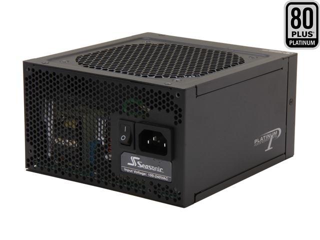 SeaSonic SS-660XP 660W ATX12V / EPS12V 80 PLUS PLATINUM Certified Full Modular Active PFC Power Supply