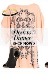 DESK TO DINNER