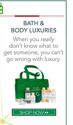 When you really don't know what to get someone, you can't go wrong with luxury