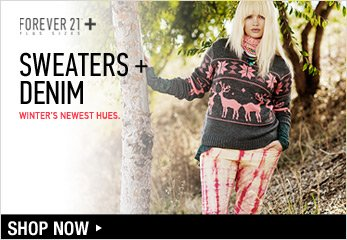 Forever 21 Plus: Denim & Sweaters - Shop Now