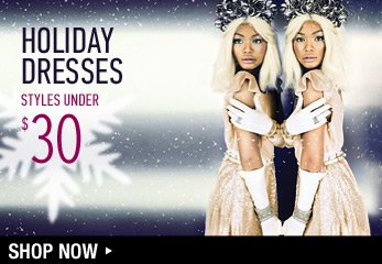 Holiday Dresses Under $30 - Shop Now
