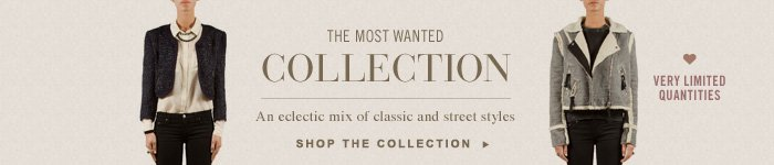 The Most Wanted Collection - Very Limited Quantities