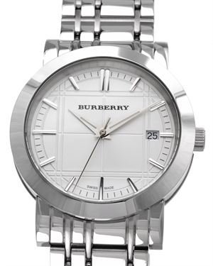 Burberry Heritage Check-Etched Men's Watch