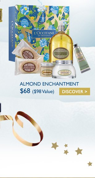 ALMOND ENCHANTMENT $68 ($98 Value)