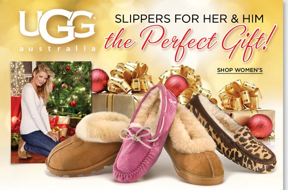 Give the gift that everyone wants! Slip into the luxurious comfort of sheepskin with UGG® Australia's luxurious slipper collection. Featuring a durable indoor/outdoor outsole, these slippers can casually be worn everywhere you go! Enjoy a FREE Spa Kit when you shop online now at The Walking Company!