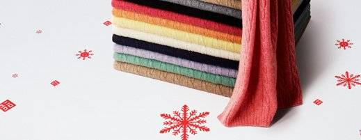 Cashmere blended accessories
