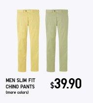 Men Slim Fit Chino Pants(more colors)