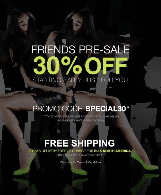 Friends Sale | 30%off