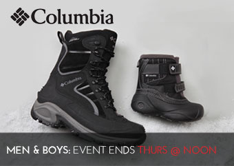 COLUMBIA SHOES - Mens Boys