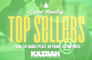 Green Monday: Top Sellers from Marketplace