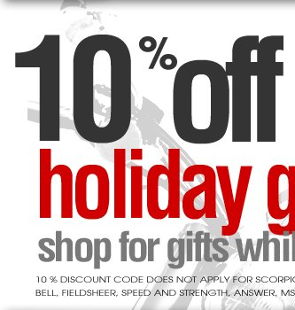 Get Additional 10% on Already Discounted Items