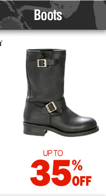 Boots - up to 35% off