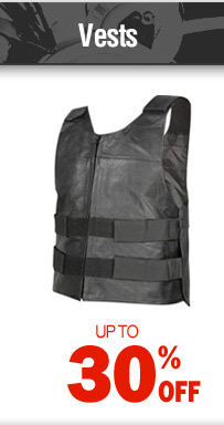 Vests - up to 30% off
