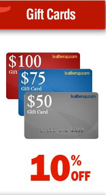 Leatherup Gift Cards - 10% off