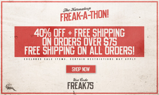 40% Off +Free Shipping On Orders Over $75!