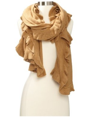 collection eighteen <br/>Ruffle Wrap Cold Weather Scarf