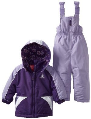 Rugged Bear <br/> Floral-Lined Snowsuit