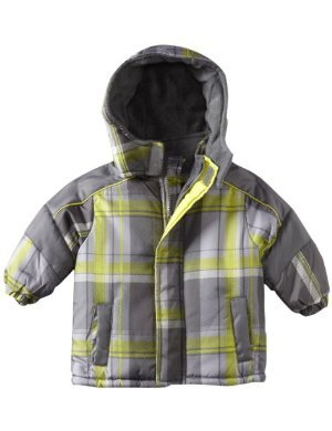 IXtreme <br/>Promo Plaid Printed Puffer Snowsuit