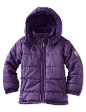 Pink Platinum <br/>Solid Ripstop Puffer Jacket