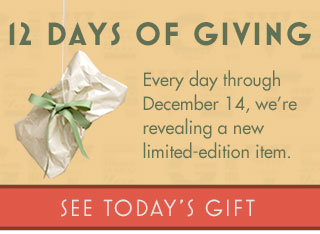 12 Days of Giving - see today's gift