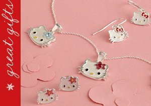 Hello Kitty Sterling Silver Jewelry
