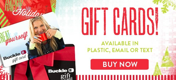 Shop Buckle Gift Card