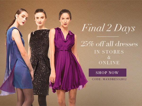 Maxstudio Dresses 25% off