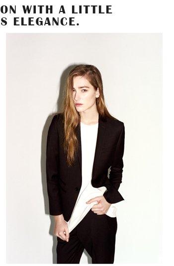 Premium Satin Trim Tux Jacket And Suit Trousers