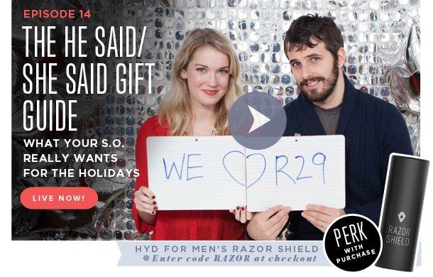 He Said/She Said Gift Guide