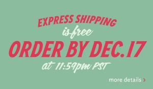 express shipping is free