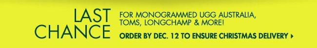 Monogramme Last Chance