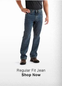 REGULAR FIT JEAN SHOP NOW