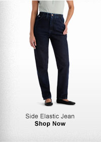 SIDE ELASTIC JEAN SHOP NOW