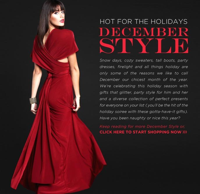 Hot for the Holidays - December Style