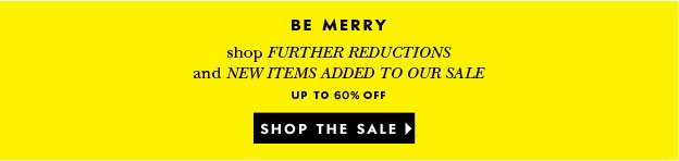 be merry. shop the sale.