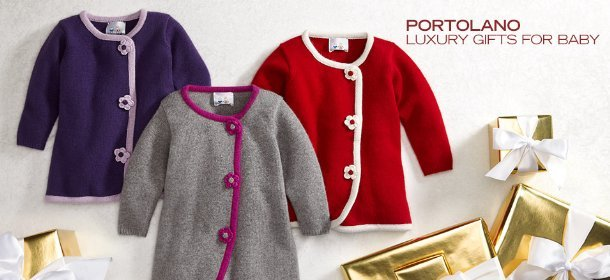 PORTOLANO: LUXURY GIFTS FOR BABY, Event Ends December 14, 9:00 AM PT >