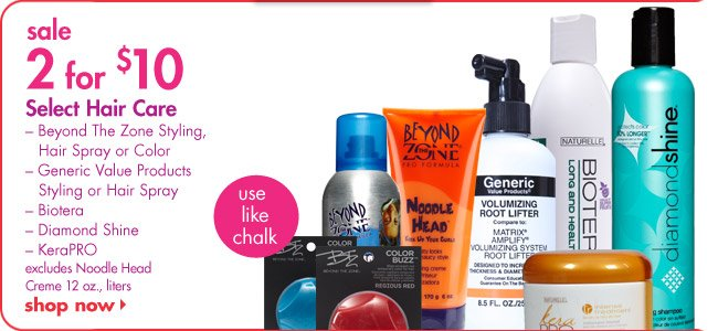 Select Hair Care